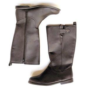 Gap Kids Girls Youth Dark Brown Tall Riding Boots
